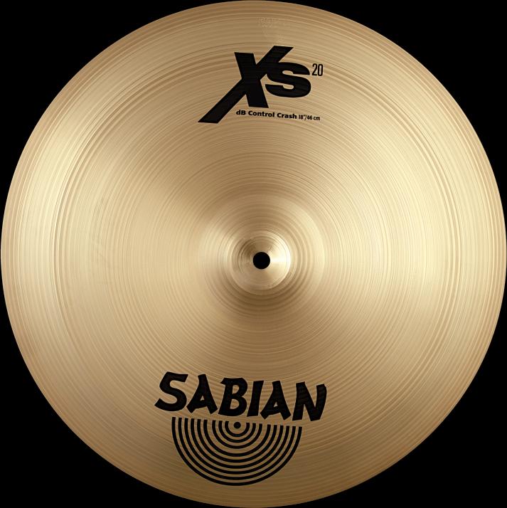 "Sabian Cymbaal XS20 Crash 18"" dB Control"