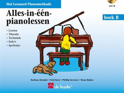 Alles-in-Één-pianolessen boek B