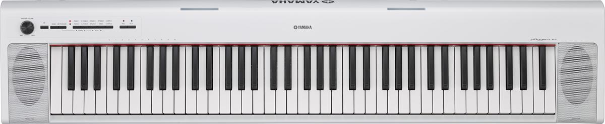 Yamaha NP32 Piaggero Keyboard - White