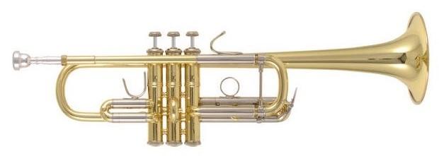 Vincent Bach C Trompet C180L239 25H Stradivarius - Uitvoering: Goudlak