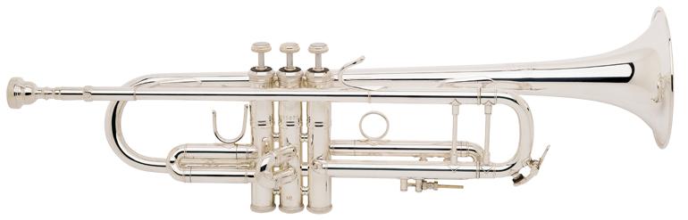 Vincent Bach Bb Trompet LT180S-37 Stradivarius - Uitvoering: Verzilverd