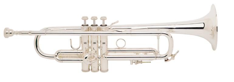 Vincent Bach Bb Trompet LR180S-37 Stradivarius - Uitvoering: Verzilverd