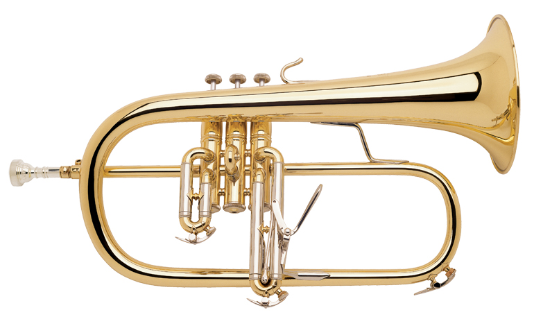 Vincent Bach Bb Flugel Horn 183 Stradivarius - Uitvoering: Goudlak