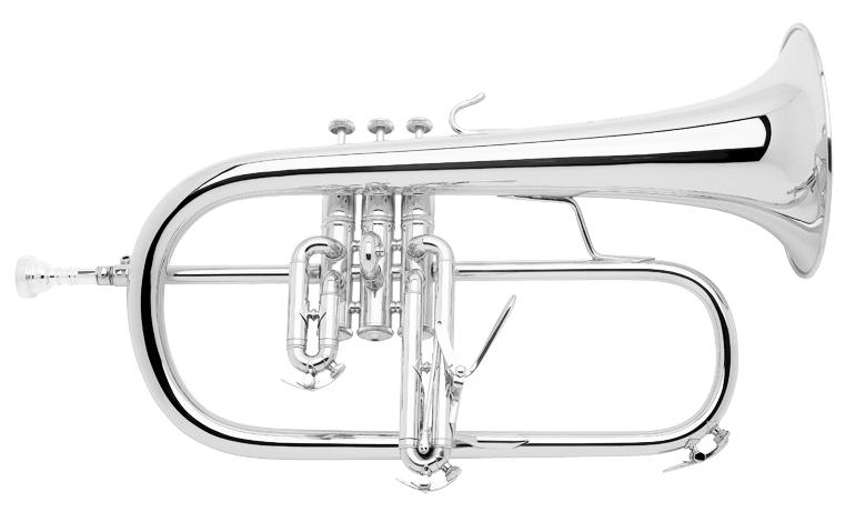 Vincent Bach Bb Flugel Horn 183S Stradivarius - Uitvoering: Verzilverd