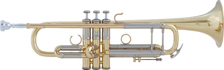 Vincent Bach Bb Trompet AB190 Artisan - Uitvoering: Goudlak
