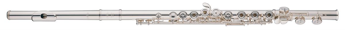 Altus Dwarsfluit 907ER Semi-Professional - Uitvoering: Verzilverd