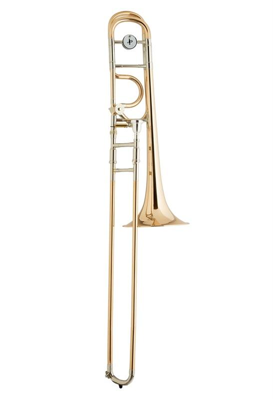 John Packer Trombone JP332O Rath Open Wrap met F-attachment - Uitvoering: Goudlak