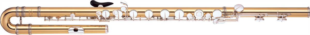 Yamaha Bas-fluit YFL-B441 Gesloten Kleppen - Professional
