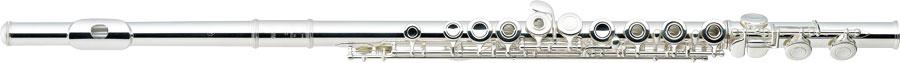 Yamaha Dwarsfluit YFL-272SL Open Kleppen, Sterling Zilver Lipplaat