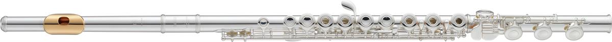 Yamaha Dwarsfluit YFL-382GL Open Kleppen, Vergulde Lipplaat