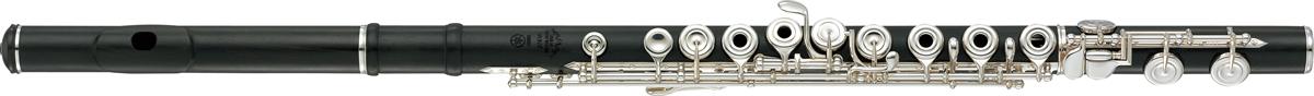 Yamaha Dwarsfluit YFL-874W Handmade Hout met Open Kleppen - Professioneel