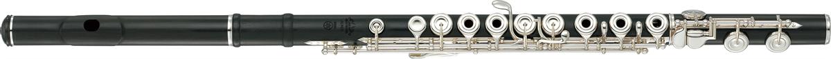 Yamaha Dwarsfluit YFL-894W Handmade Hout met Open Kleppen - Professioneel