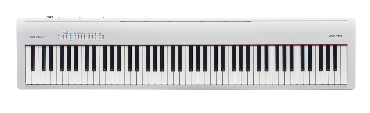 Roland FP-30-WH Draagbare Piano - Wit