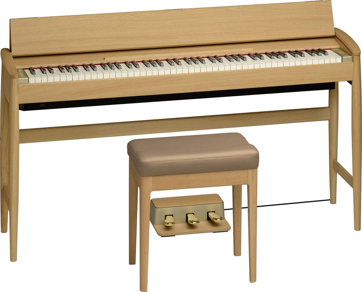 Roland KF-10-KO Kiyola Digitale Piano - Pure Eik