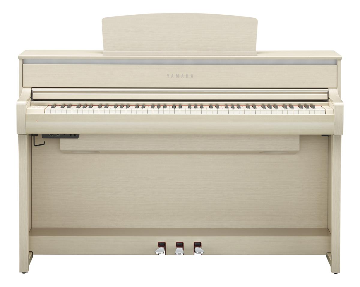 Yamaha Clavinova CLP-675 White Ash