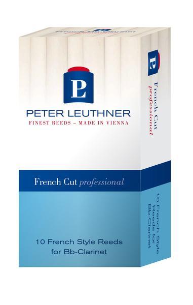 Peter LEUTHNER klarinet Bb/A Professional French Cut - sterkte 3.0 (10 rieten)