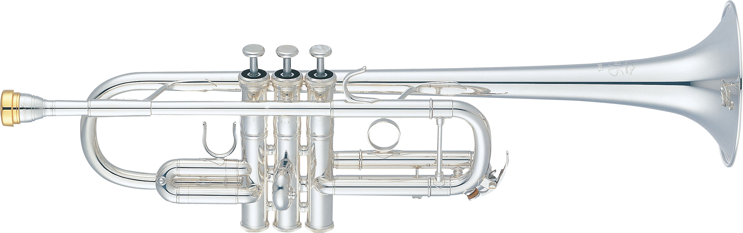 C Trumpet Yamaha Xeno YTR-8445GS - Uitvoering: verzilverd