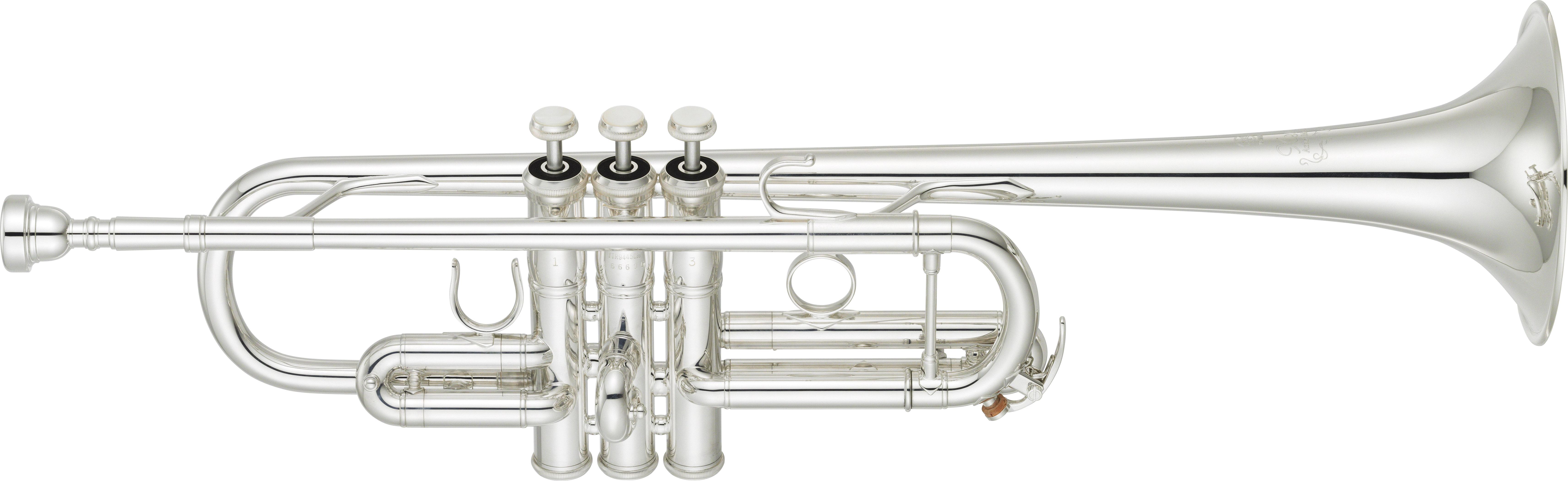 C Trompet Yamaha Custom Xeno Artist Model 'Chicago' YTR9445CHS - Uitvoering: verzilverd