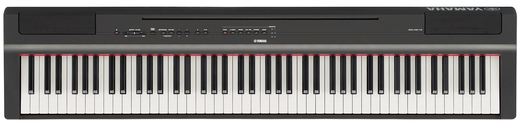 Yamaha Draagbare Piano P-125 - Zwart