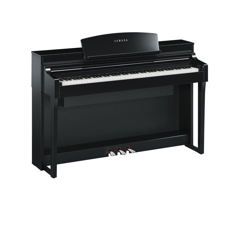 Yamaha Clavinova CSP-170PE - Uitvoering: zwart hoogglans