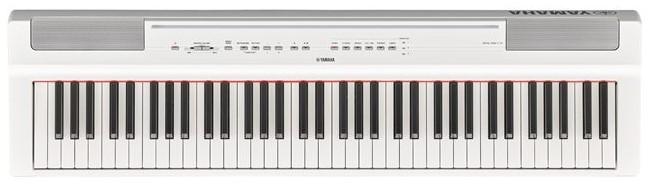 Yamaha Draagbare Piano P-121B - Wit