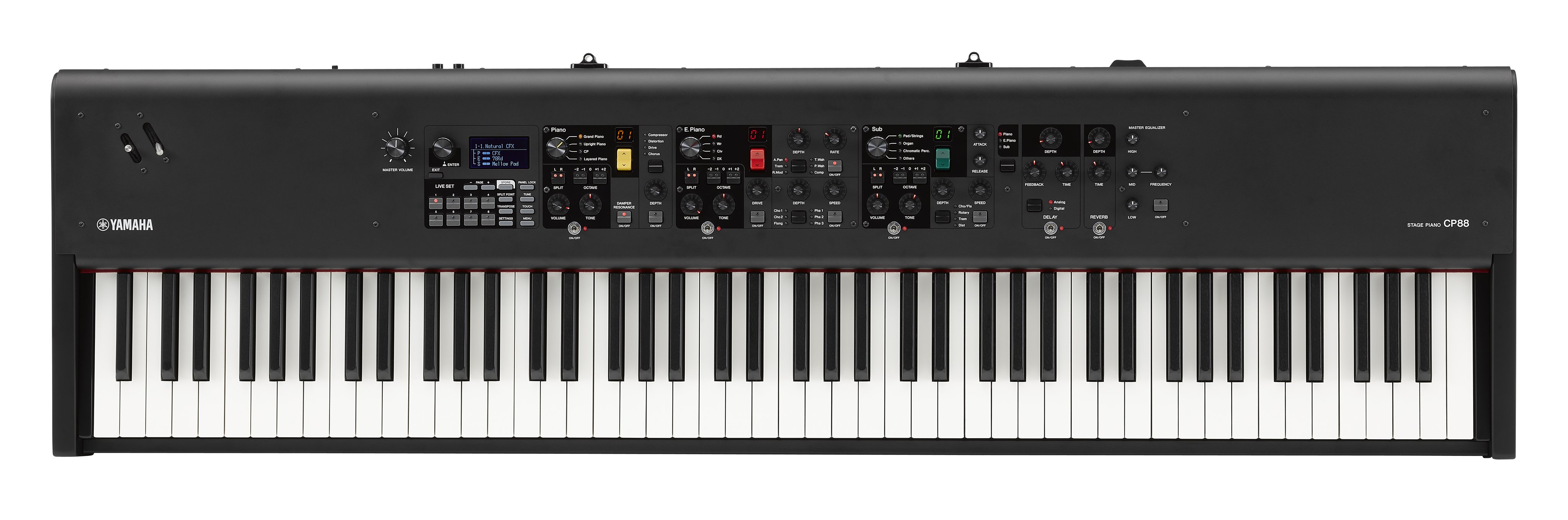 Yamaha Digitale Stage Piano CP88