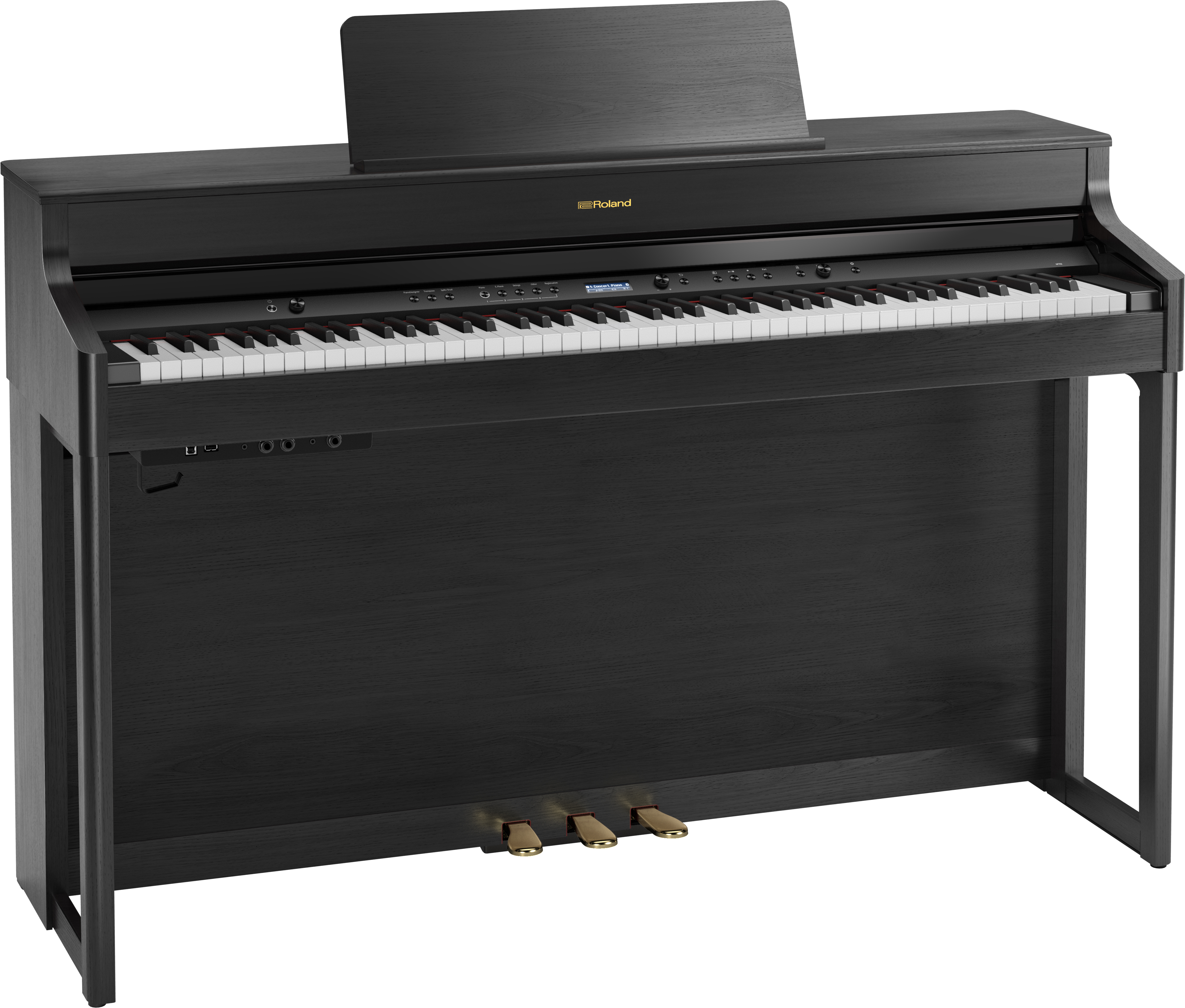 Roland HP702-CH Digitale Piano - Charcoal Black