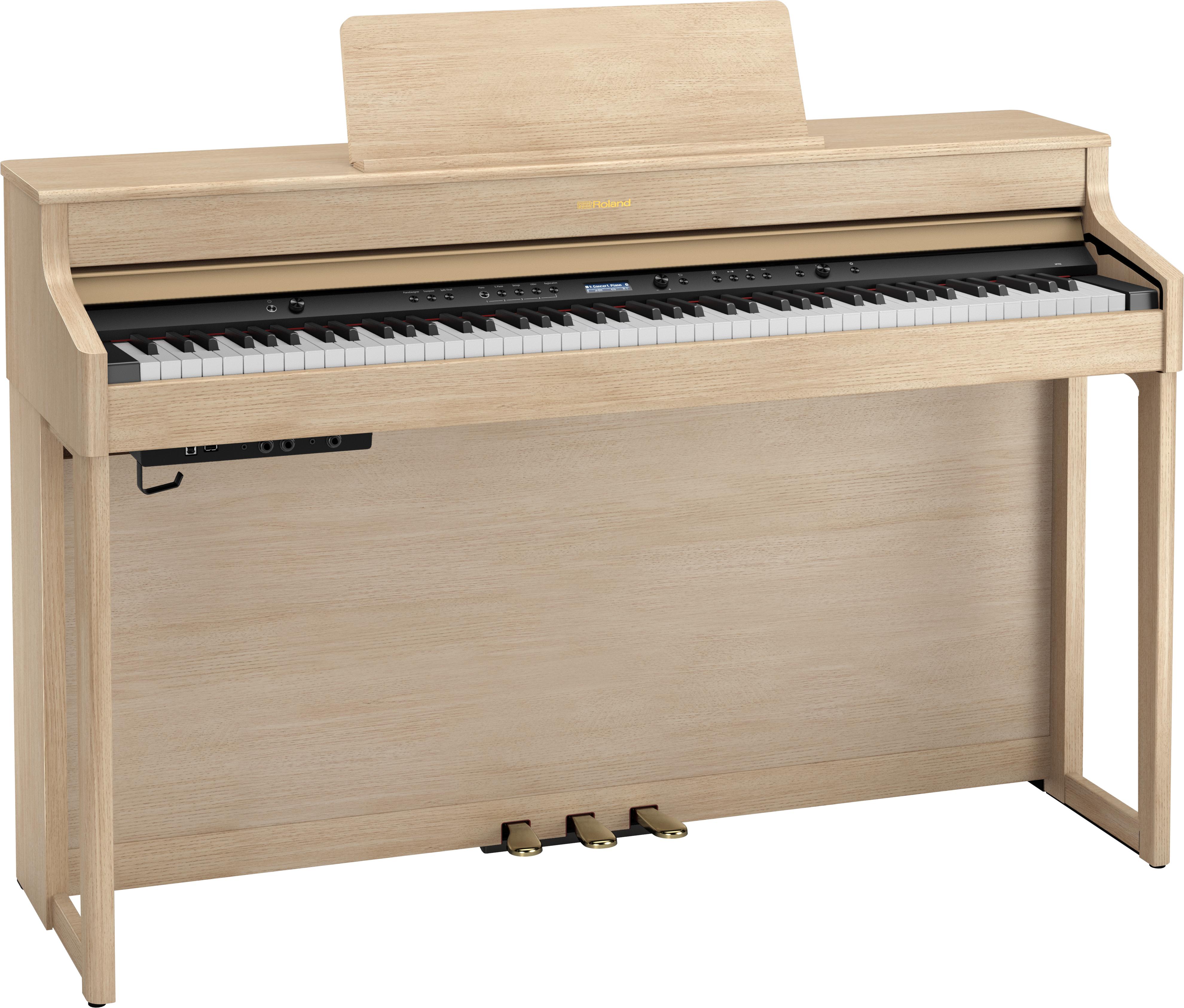 Roland HP702-LA Digitale Piano - Light Oak