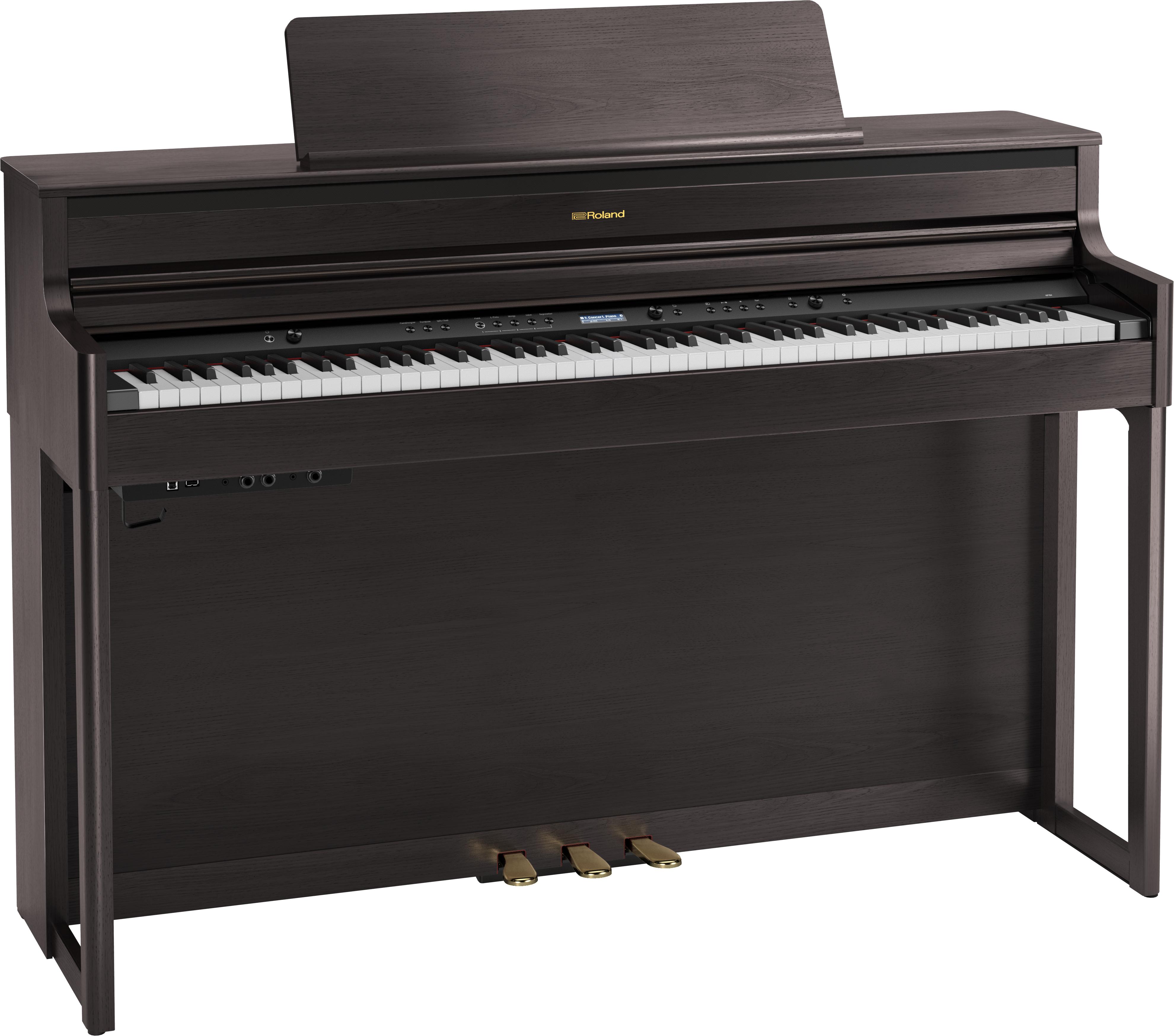 Roland HP704-CH Digitale Piano - Dark Rosewood