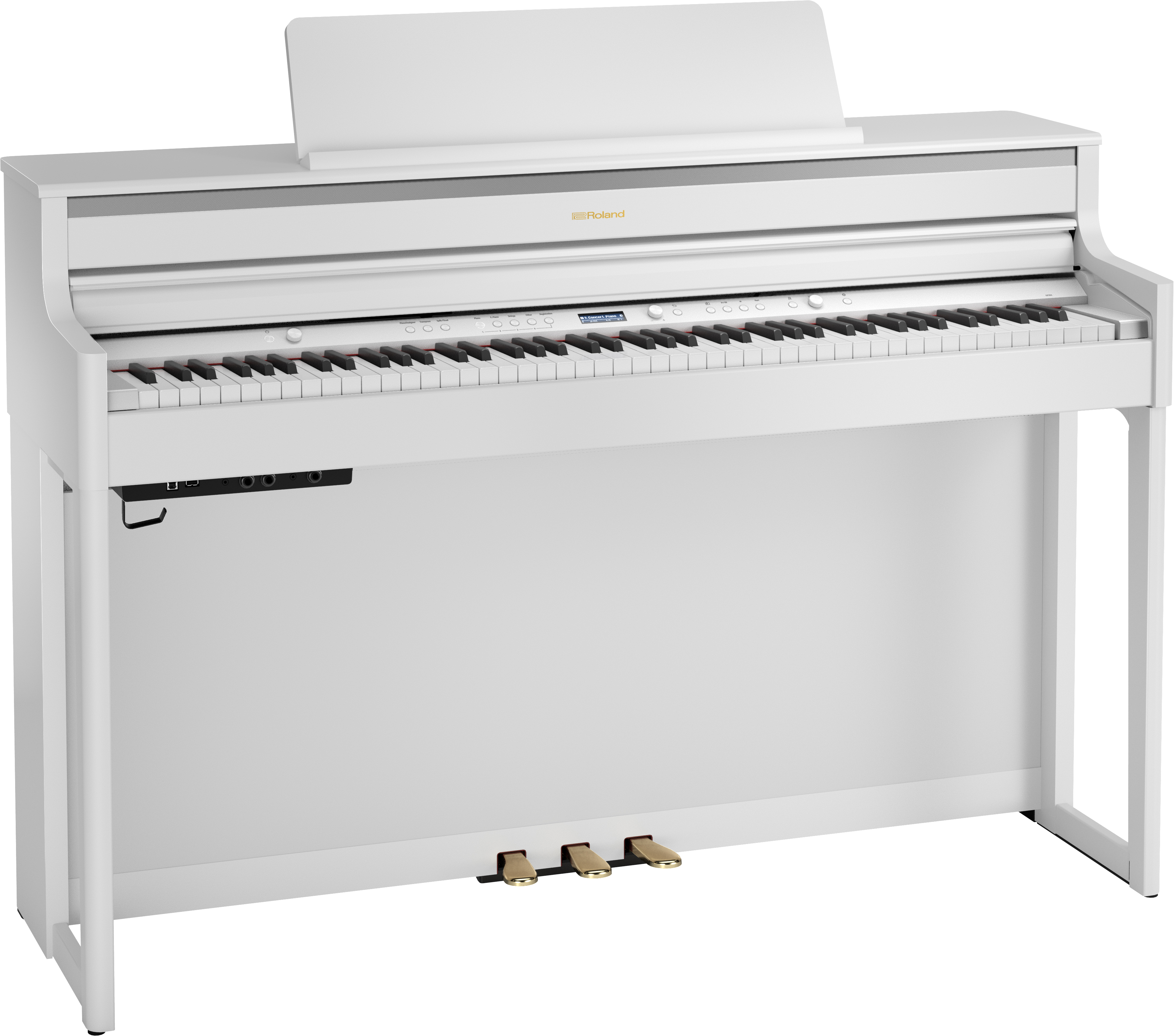 Roland HP704-CH Digitale Piano - Wit