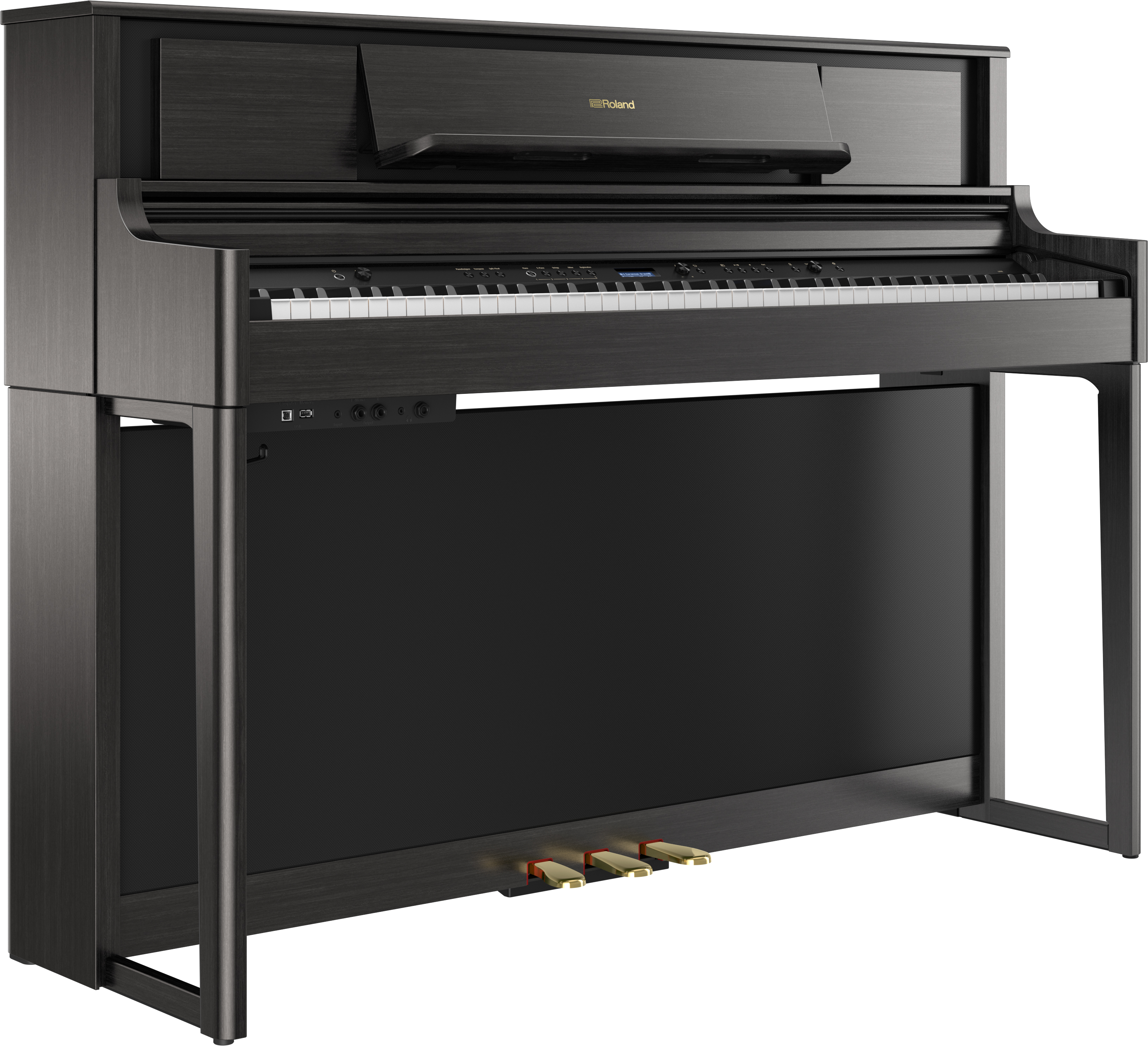 Roland LX705-CH Digitale Piano - Charcoal Black