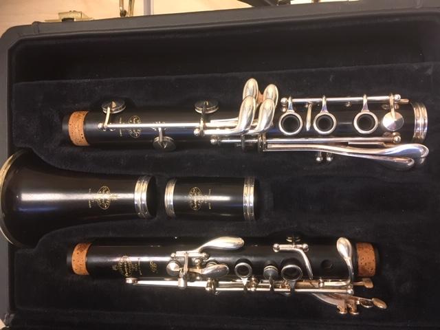 klarinet BUFFET CRAMPON RC Bb - BE 1114 demo!