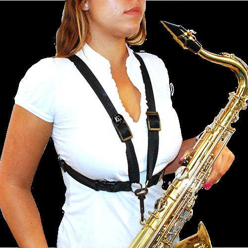 BG France Harnas Saxofoon Vrouw XL S44-MSH Metalen Snaphook