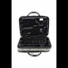 BAM Gig Bag Klarinet Bb/A Traveler Hightech Metallic Grey & Reflecting Black 3028TH