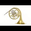 Hans Hoyer Bb Enkel Hoorn 702-L - Uitvoering: Goudlak