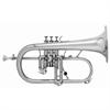 Courtois Flugel Horn PROFESSIONAL - Uitvoering: Verzilverd