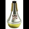 Denis Wick Straight Mute Cornet/Trompet  Aluminium en Brass Bottom