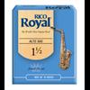 D'Addario Woodwinds Rieten Saxofoon Alto ROYAL - Sterkte 1,5 (doos met 10 stuks)