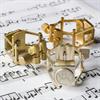 Francois Louis Ligatuur Saxofoon Alto XL PB Silver