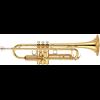 Yamaha Bb Trompet YTR-6345G Medium Weight Professional - Uitvoering: Goudlak