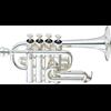 Yamaha Piccolo Trompet YTR-6810S Lightweight Professional - Uitvoering: Verzilverd
