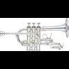 Yamaha Piccolo Trompet YTR-9825 Medium Weight Custom - Uitvoering: Verzilverd