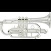 Yamaha Bb Cornet YCR-4330GSII Intermediate - Uitvoering: Verzilverd