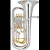 Yamaha Euphonium YEP-842S Custom - Uitvoering: Verzilverd