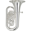 Yamaha Eb Bastuba YEB-632S Custom NEO - Uitvoering: Verzilverd