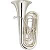 Yamaha C Bastuba YCB-621S Professional - Uitvoering: Verzilverd