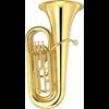 Yamaha Bb Bastuba YBB-105 Standard - Uitvoering: Goudlak