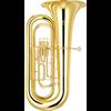 Yamaha Bb Bastuba YBB-201 Standard - Uitvoering: Goudlak