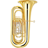Yamaha Bb Bastuba YBB-321 Intermediate - Uitvoering: Goudlak