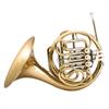 John Packer Bb/F Dubbel Hoorn JP261RATH - Uitvoering: Goudlak